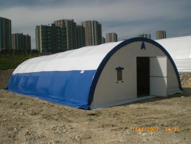 işçi çadırı